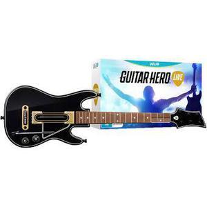 Guitar Hero Live + Guitar - Nintendo Wii U