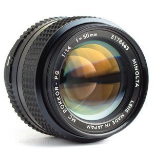 Minolta AF Macro 50mm MD f/1.4