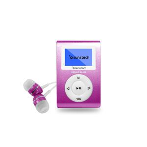 Reproductor de MP3 Y MP4 4GB Sunstech Dedalo III - Rosa
