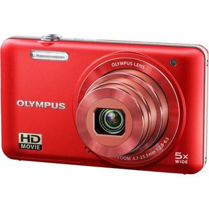 Compact Olympus D-745 - Punainen + Objektiivi Olympus 26-130mm f/2.8-6.5