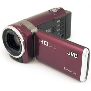 Videokamera JVC Everio GZ-HM446 - Schwarz/Rot