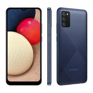 Galaxy A02S 32 GB (Dual Sim) - Azul - Desbloqueado