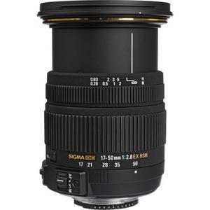 Objektiivi Sigma F 17-50mm f/2.8 EX DC OS HSM