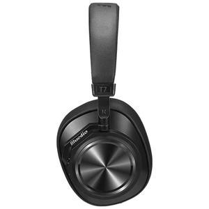 Bluedio T7 Plus Kuulokkeet Melunvaimennus Bluetooth Mikrofonilla - Musta