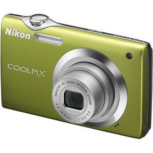Compacta - Nikon Coolpix S3000 - Verde + Lens Nikkor Zoom 4.9-19.6 mm f/3.2-5.9