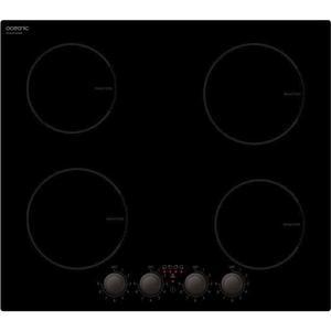 Plaque Induction 4 Foyers - Oceanic TI4ZMA - Noir
