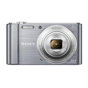 Cámara compacta - Sony Cyber-shot DSC-W810 - Plata + Objetivo Sony Lens 6x Optical Zoom 26-156 mm f/3.5-6.5