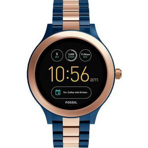 Relojes Fossil Q Gen 3 Smartwatch Venture FTW6002 - Azul/Oro