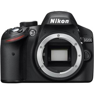 Cámara réflex Nikon D3200 - Negro + objetivo Nikon AF-P DX Nikkor 18-55 mm f/3.5-5.6G VR