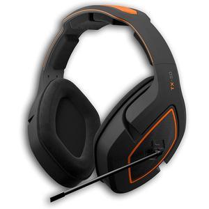Gioteck TX-50 Gaming Ακουστικά Μικρόφωνο - Μαύρο/Πορτοκαλί