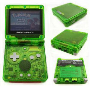Console Nintendo Game Boy Advance SP - Vert Transparent