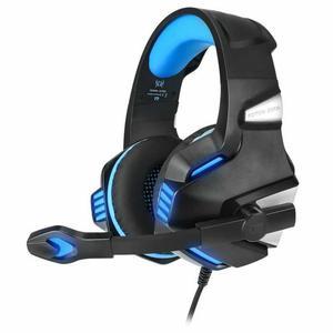 Cascos Gaming Micrófono Kotion Each G7500 - Negro/Azul