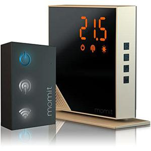 Thermostat Momit BMHTGV1 - Noir