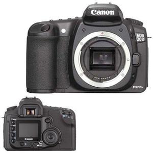 Canon EOS 20D Hybrid 8Mpx - Black