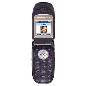 Motorola V220 - Schwarz- Ohne Vertrag
