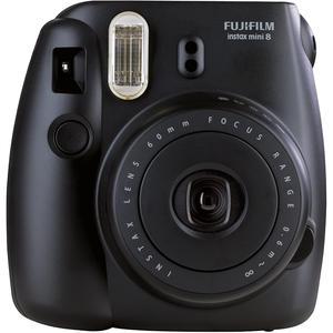 Instant Fujifilm Instax Mini 8 - Musta + Objketiiv Fujifilm 60mm f /12.7
