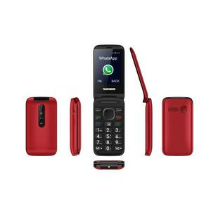 Telefunken TM 360 Cosi - Rood/Zwart- Simlockvrij