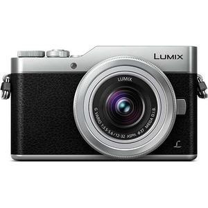 Cámara híbrida Panasonic Lumix DC-GX800 - Negro/Plata + lente Panasonic Lumix G Vario HD 12-32mm f/3.5-5.6 MEGA O.I.S