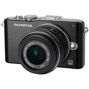 Hibrida - Olympus Pen Lite E-PL3 DZK Negro + Lens Olympus M.Zuiko Digital 14-42mm f/3.5-5.6