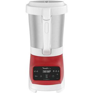 Standmixer Moulinex Soup & Plus LM924500 - Weiß/Rot