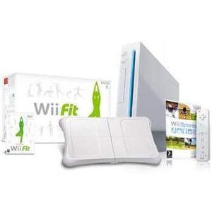 Nintendo Wii + Manette + Jeux - Blanc