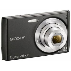Compact Sony Cyber-shot DSC-W510 - Zwart + Lens Sony 4x Optical Zoom 26–104mm f/2.8-5.9
