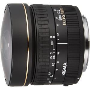 Lens EF 8mm f/3.5