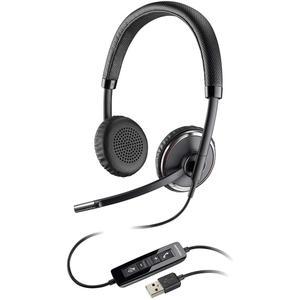 Blackwire C520-M Hoofdtelefoon - Microfoon Zwart