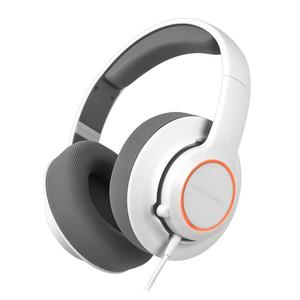 Casque Gaming avec Micro Steelseries Siberia RAW Prism - Blanc/Gris