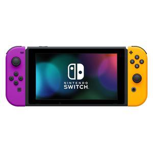 Nintendo Switch V2 -pelikonsoli 32GB + 2 pelohjaimet - Violetti/Oranssi
