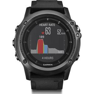 Horloges Cardio GPS Garmin Fénix 3 Sapphire HR - Zwart