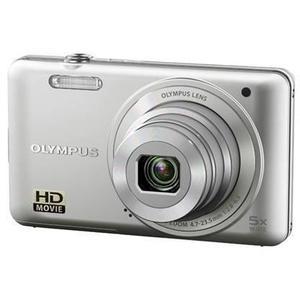 Compactcamera Olympus VG-140 - Zilver + Lens Olympus 5X Wide Optical Zoom Lens
