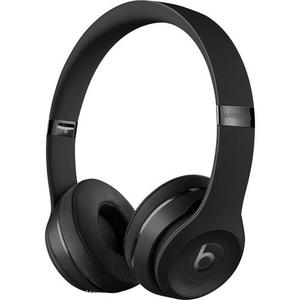Beats By Dr. Dre Solo 3 Noise-Cancelling Bluetooth Headphones with microphone - Black