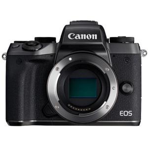 Hybridikamera Canon EOS M5 vain vartalo - Musta/Harmaa