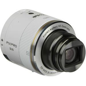 Compact - Kodak Pixpro SL10 Blanc Kodak Pixpro Aspheric HD Zoom Lens 10X Wide 28-280mm f/3.2-5.6