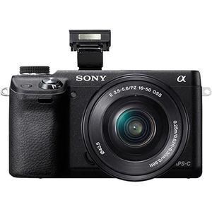Κάμερα Mirrorless Sony Alpha NEX 5N - Μαύρο + Φωτογραφικός φακός Sony E 16-50mm f/3.5-5.6 OSS