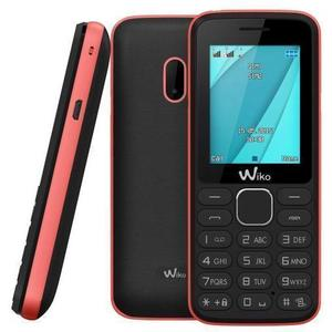 Wiko Lubi 4 0,512GB Dual Sim - Zwart/Roze - Simlockvrij