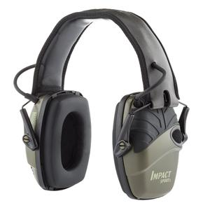 Kopfhörer Rauschunterdrückung mit Mikrophon Honeywell Howard Leight Impact Sport Electronic Earmuff 1013530 - Grün/Schwarz
