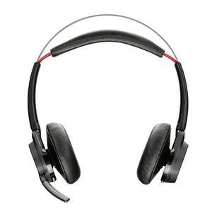 Kopfhörer Rauschunterdrückung Bluetooth mit Mikrophon Plantronics Voyager Focus UC B825-M - Schwarz