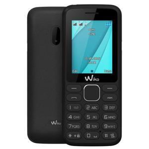 Wiko Lubi 4 - Zwart- Simlockvrij