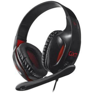 Casque Gaming avec Micro Trust GXT 330 Endurance XL - Noir/Rouge