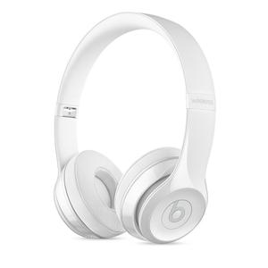 Beats Solo 3 Wireless Noise-Cancelling Bluetooth Headphones - White
