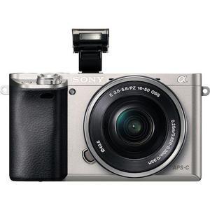 Κάμερα Mirrorless Sony Alpha ILCE 6000 - Gris/Μάυρο + Φωτογραφικός φακός Sony E PZ 16-50 mm f/3.5-5.6 OSS
