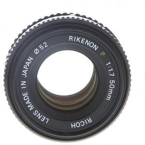Ricoh Objektiivi Pentax K-mount 50mm f/1.7