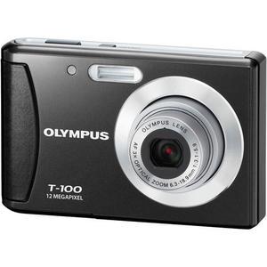 Compact - Olympus T-100 Noir Olympus AF 3x Optical Zoom 36-108mm f/3.1-5.9