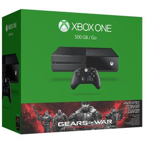 Konsole Microsoft Xbox One 500 GB  + Gears of War Ultimate - Schwarz