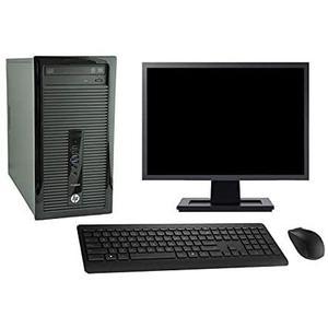 "Hp ProDesk 400 G1 MT 22"" Core i3 3,4 GHz - SSD 256 GB - 8 GB"
