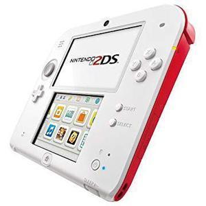 Nintendo 2DS Konsole Weiß + Rot + Neue Super Mario Bros 2