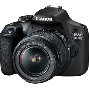 Reflex - Canon EOS 2000D Noir Canon Canon EF-S 18-55 mm f/3.5-5.6 IS II