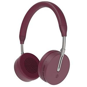 Kopfhörer Bluetooth mit Mikrophon Kygo A6/500 - Burgunderrot